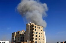 Saudi-led coalition in Yemen carries out airstrikes in Sanaa