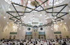 Pics: Sharjah Ruler opens emirate's largest mosque