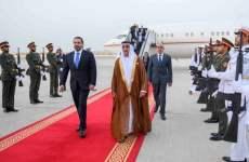 Lebanese Prime Minister Saad Hariri in UAE for official visit
