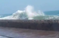 Video: UAE issues weather alert with roads closed due to high waves