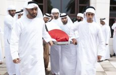 UAE royals attend funeral for Sheikh Sultan