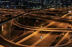 In pictures: Dubai's roads empty as disinfection campaign begins