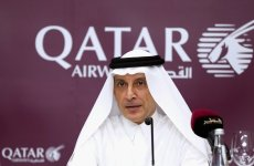 Qatar Airways CEO says laptop ban not 'targeting' Gulf carriers