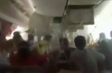 """Jump! Jump!"" – video shows chaos in cabin of crashed Emirates plane"