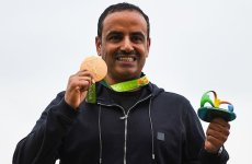 Olympic gold winner Aldeehani says joy dampened by ban on Kuwait