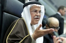 Oil prices fall after Saudi minister rules out production cut