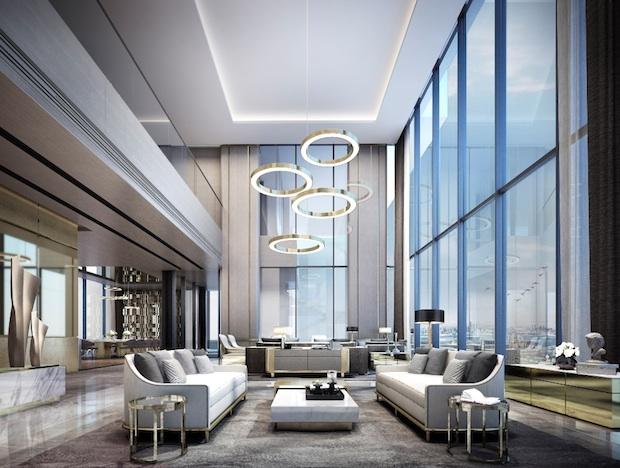 Palm 360 penthouse duplex interior