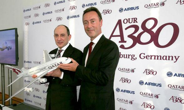 Pictures: Qatar Airways Receives First Airbus A380 - Gulf