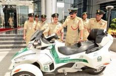Dubai Police Adds Luxury Motorcycle To Fleet