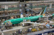 Video: flydubai's latest 737 takes shape in Boeing's Renton factory