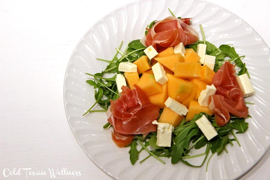 Prosciutto and Melon Salad