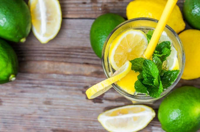 Why you should drink lemon water.