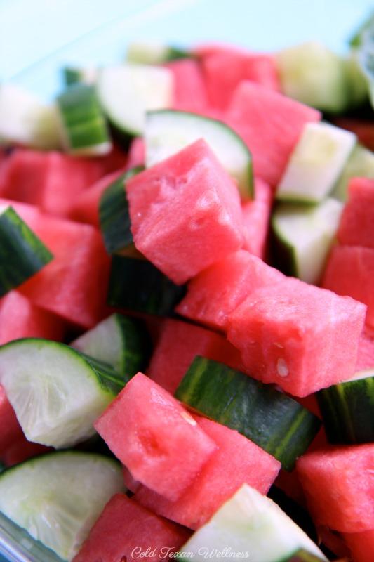 Cucumber Melon Salad