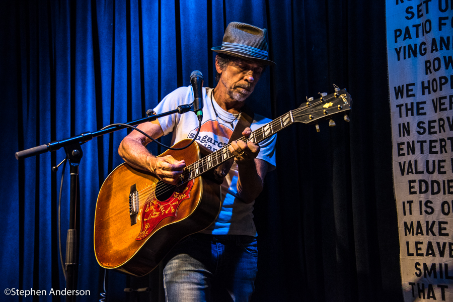Anthony Crawford playing guitar
