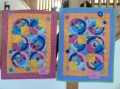 """Love is All Around Us"" & ""Circles of Love"" by Gulf Coast Quilts."