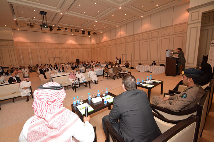 Major General Abdullah Al Shughaithri opens the conference (5)