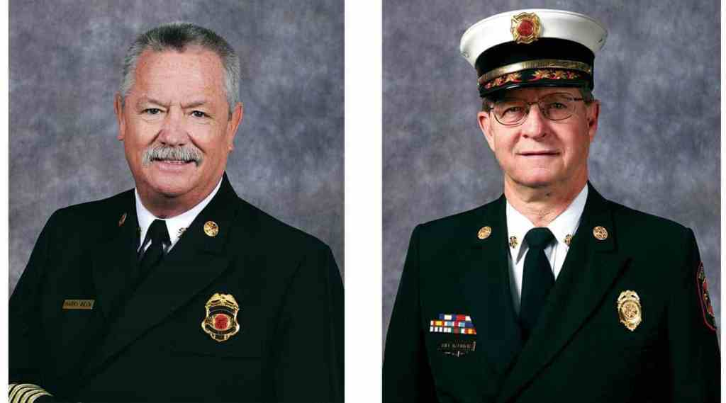 Pierce Manufacturing and the IAFC honor 2016 Career and Volunteer Fire Chief of the Year