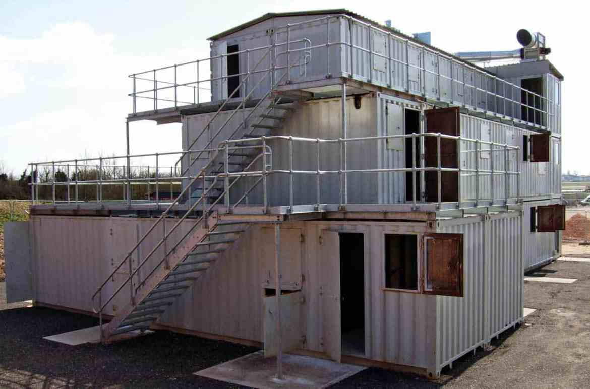 The Hot Fire Villa at Red One Ltd – a bespoke facility designed by Devon and Somerset FRS Fire Behaviour instructors.