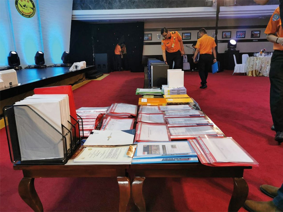 Documents for IEC of INA (Indonesia USAR Team).