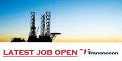 Transocean Drilling latest job vacancies 2021
