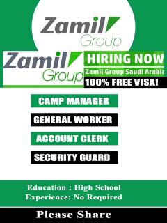 Latest zamil group jobs in Saudi Arabia
