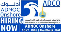 ADNOC Employment 2021 || Abu Dhabi, UAE