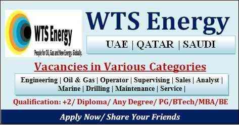 WTS Energy Jobs