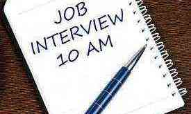 tips to not fail in a job interview