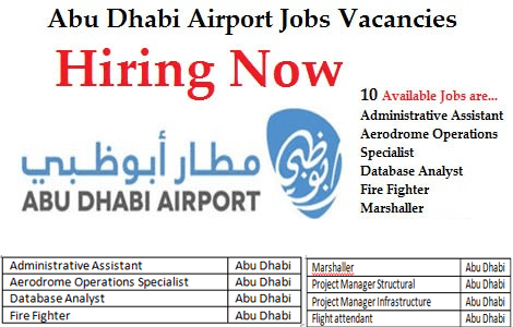Staff Required For Abu Dhabi Airport -Gulf Jobs Hiring