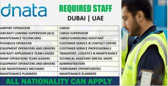 Latest Jobs Hiring At Dnata-UAE Online Hiring Apply Now