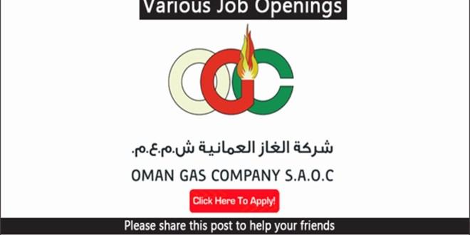 Oman Gas Company jobs Apply Now-OMAN -Gulf Jobs Hiring