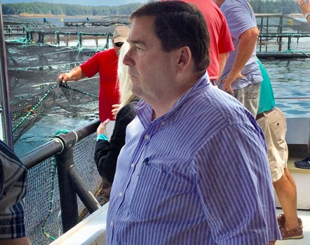 Louisiana Lt. Governor Nungesser And Gulf Seafood Leaders Tour Maine Aquaculture