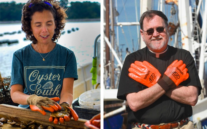 Beth Walton and Father Sinclair Oubre Join Gulf Seafood Foundation's Board