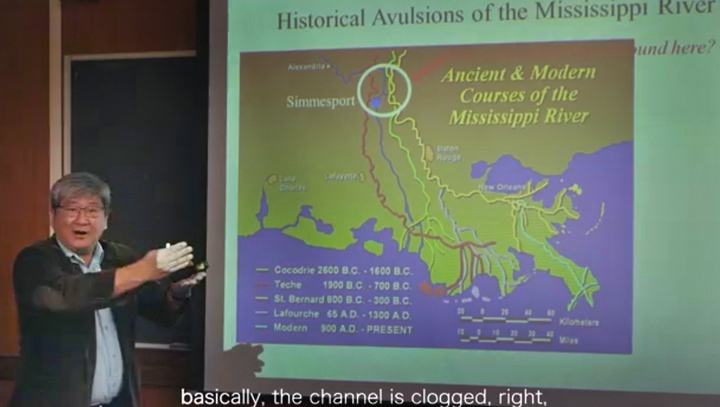 Mississippi River Course to Correct to Atchafalaya According to LSU Professor