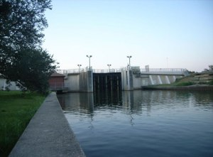 bayou st. john flood control structure
