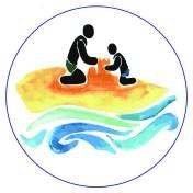 Health Icon-Family on Beach
