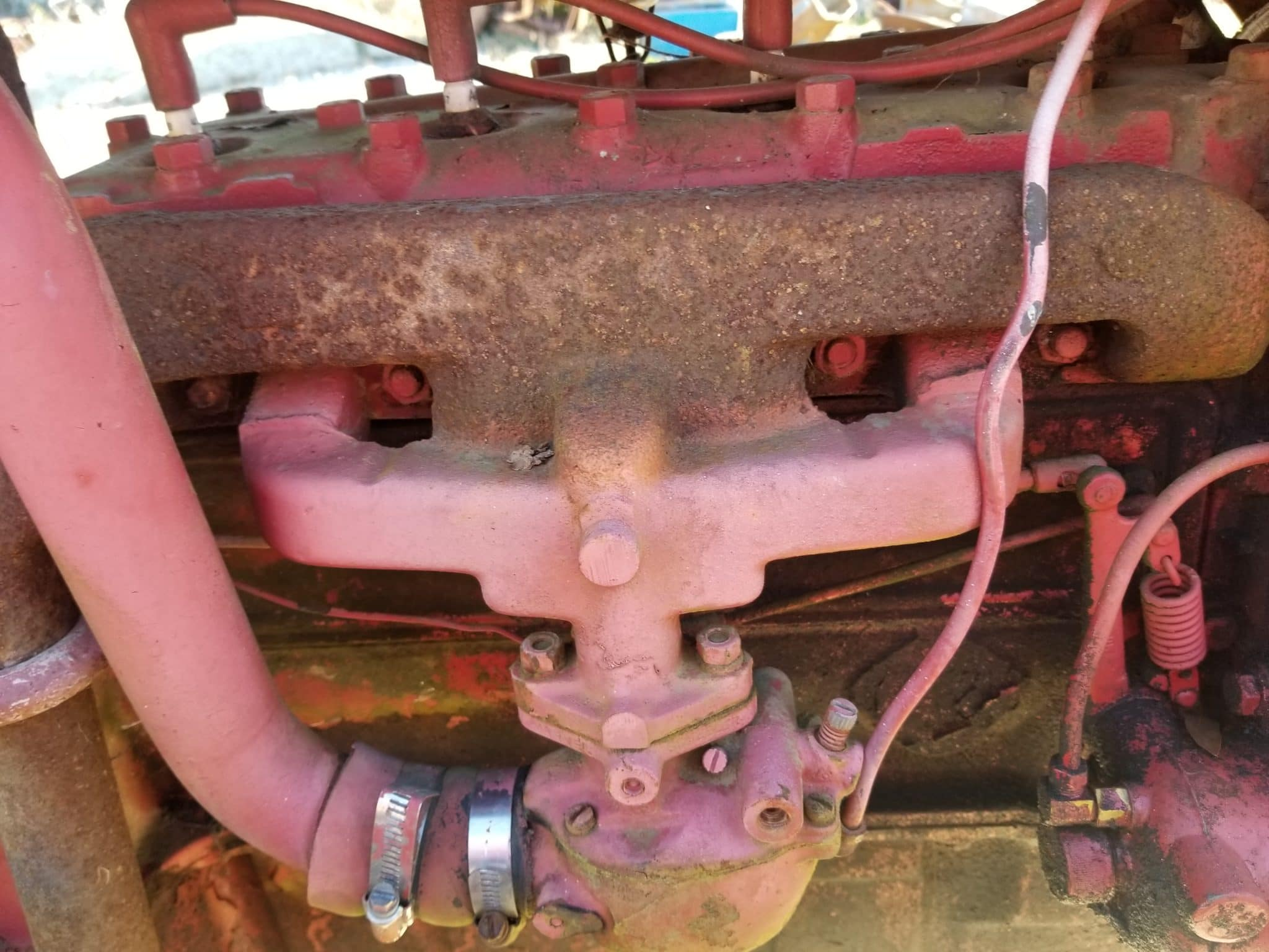 used ford 8n intake exhaust manifold