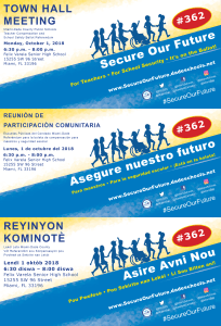 Town Hall 10.01.18 Invite English Spanish and Creole