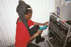 Queen Quet Techning at All Mobile Productions™ (AMP™)