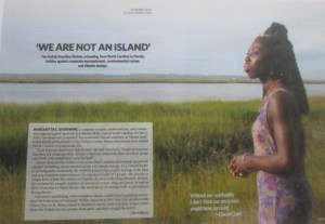 Queen Quet in Sojourner Magazine
