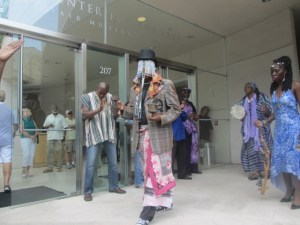 Dayclean de African Spirit at the Jepson