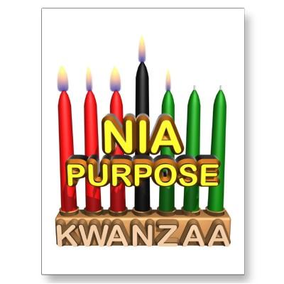Kwanzaa NIa Purpose