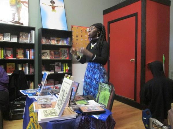 Queen Quet, Chieftess of the Gullah/Geechee Nation at True Uhuru Books
