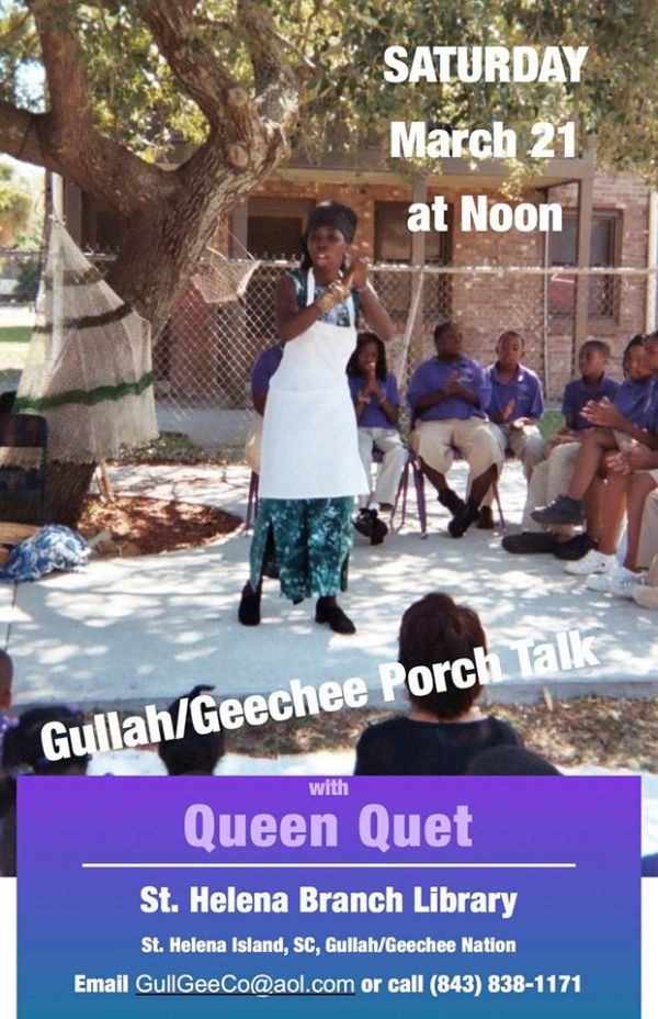 Gullah/Geechee Porch Talk on St. Helena Island
