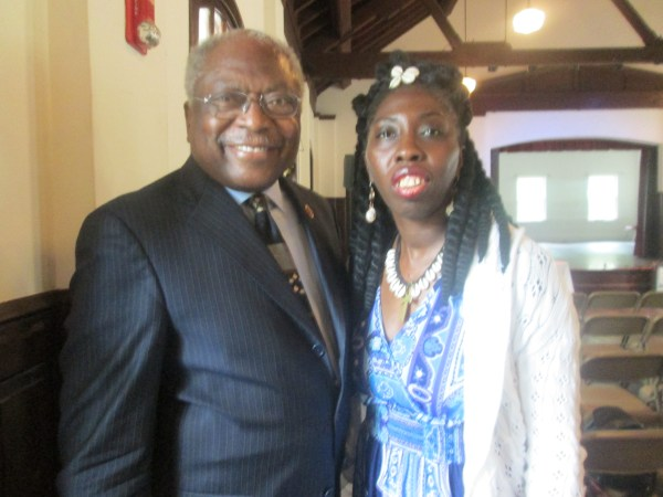 Congressman James E. Clyburn and Queen Quet, Chieftess of the Gullah/Geechee Nation (www.QueenQuet.com) worked together on the Gullah/Geechee Cultural Heritage Act and on the International African American Museum (IAAM).   They stand proudly together on historic St. Helena Island, SC in the Gullah/Geechee Nation.