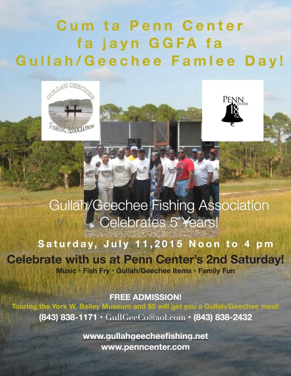 GGFA at Penn Center for 2nd Saturday