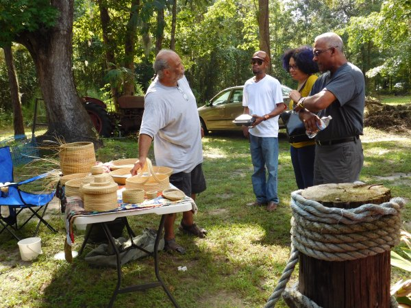 Greg Grant Gullah/Geechee Sweetgrass Basket Maker