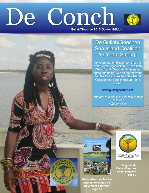 De Conch 2015 Golden Edition Cover