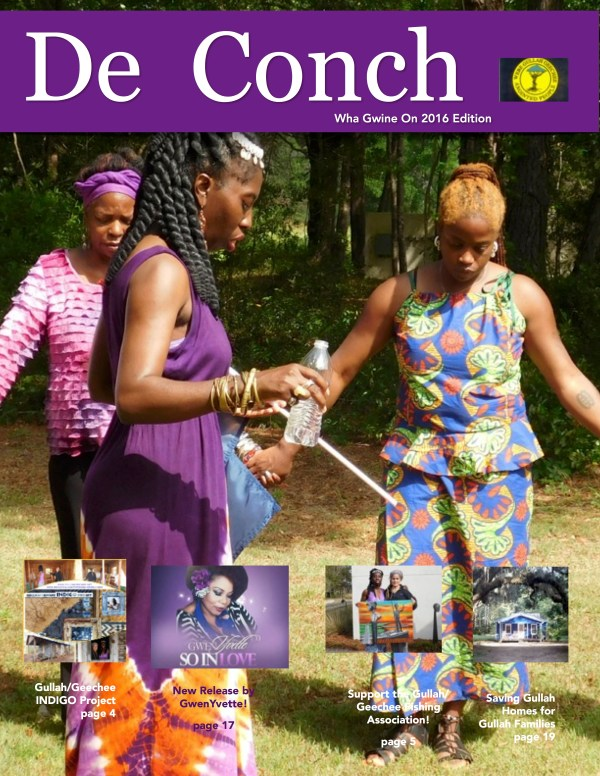 De Conch Wha Gwine On 2016 Edition Cover