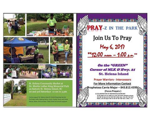 Pray-z in the Park at St. Helena Island Community Market
